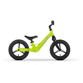 """TABOU Rocket Run Magnesium Balance Bike 12"""" Kids, green/black/white"""